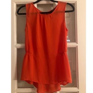 ✨2/$15✨H&M Sleeveless Top in Clementine